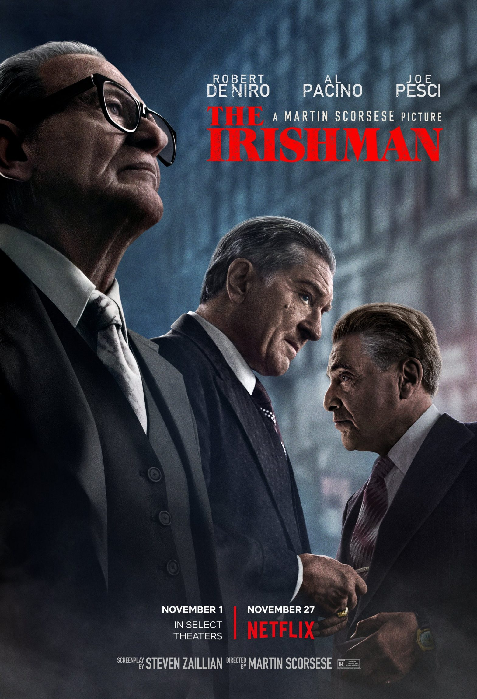 The Irishman Poster